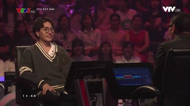 Vàng Anh Minh Hương, Châu Đăng Khoa ngồi ghế nóng Ai là triệu phú số Tết - Ảnh 1.