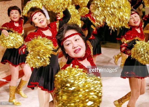 Đội cổ vũ hoạt náo viên cao tuổi tại Nhật Bản - Ảnh 4.