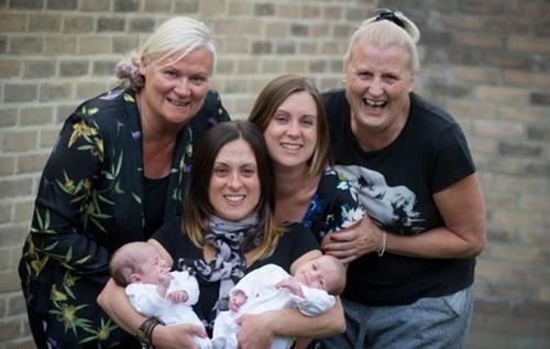Gia đình nhiều thế hệ được thu bé lại vừa bằng một bức ảnh - Ảnh 8.