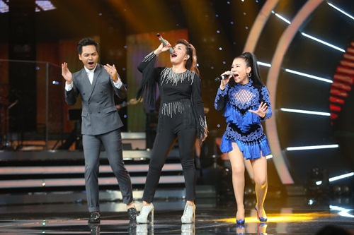 Khoảnh khắc quậy của Thu Minh và thí sinh ở CK Vietnam Idol - Ảnh 5.
