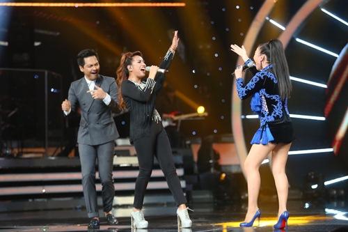 Khoảnh khắc quậy của Thu Minh và thí sinh ở CK Vietnam Idol - Ảnh 6.