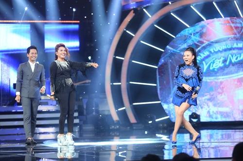 Khoảnh khắc quậy của Thu Minh và thí sinh ở CK Vietnam Idol - Ảnh 7.