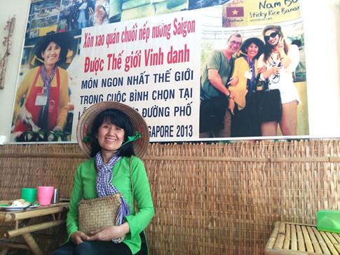 Cô Út bán chuối nướng được thế giới vinh danh - Ảnh 1.