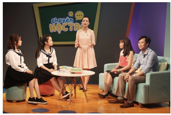 Chuyện học trò - Talkshow thú vị cho học sinh và phụ huynh trên VTV7 - Ảnh 1.
