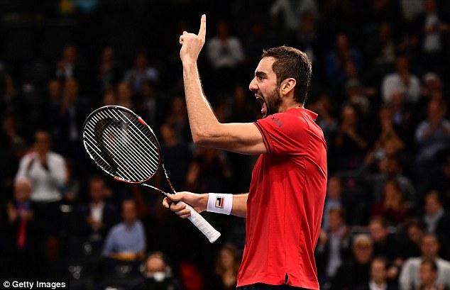 Tứ kết Paris Masters: Djokovic chính thức thành cựu vương - Ảnh 2.