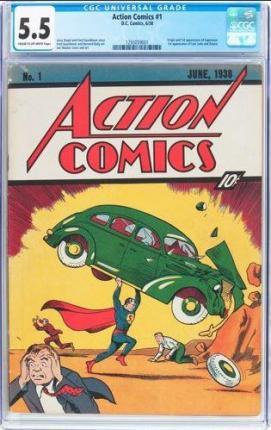 """Cuốn truyện tranh """"tiền thân"""" của Superman bán giá 1 triệu USD - Ảnh 1."""