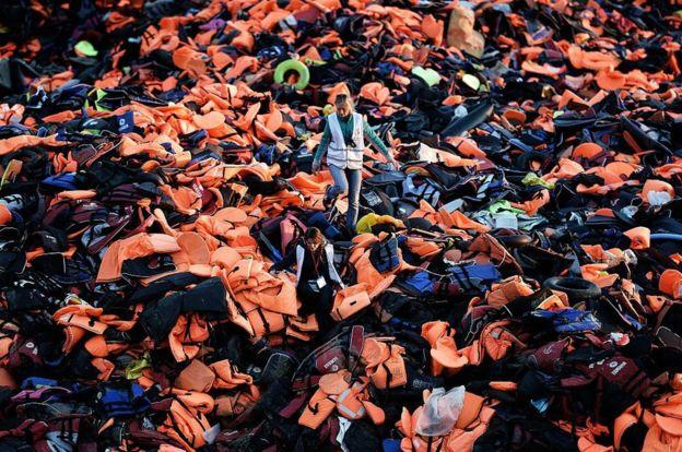 Loạt ảnh về người di cư tại Lesbos giành giải Nhiếp ảnh báo chí - Ảnh 3.
