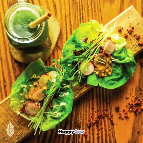 Khám phá nhà hàng chay đầu tiên ở xứ sở Hồi giáo Qatar - Ảnh 4.