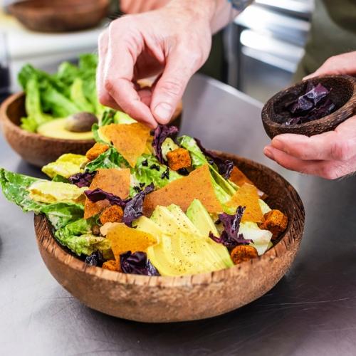 Khám phá nhà hàng chay đầu tiên ở xứ sở Hồi giáo Qatar - Ảnh 6.