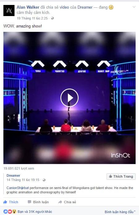 Alan Walker ngã mũ thán phục trước bản Dance Cover tuyệt đỉnh của Faded - Ảnh 3.