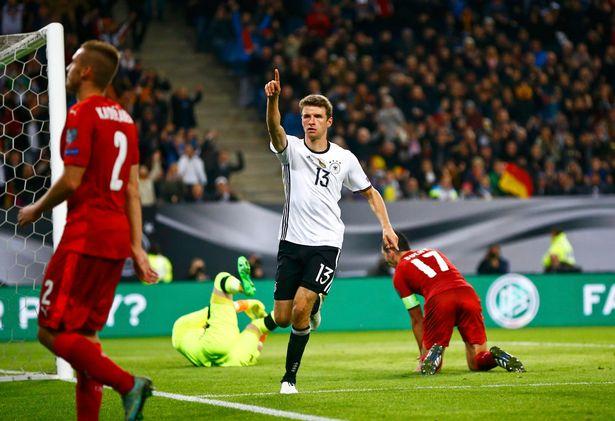 VIDEO, Đức 3-0 CH Czech: Sự trở lại của Muller! - Ảnh 1.