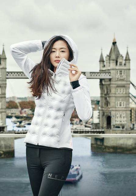 Jun Ji Hyun diện thời trang mùa đông sành điệu - Ảnh 1.