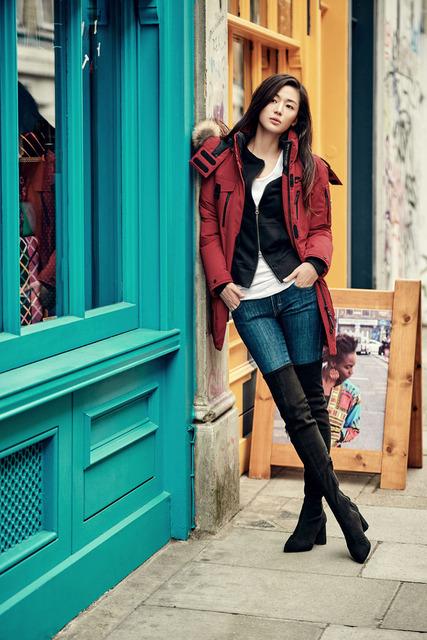 Jun Ji Hyun diện thời trang mùa đông sành điệu - Ảnh 3.