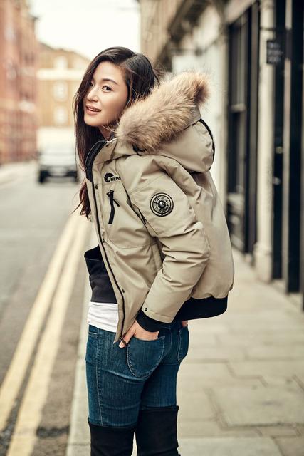 Jun Ji Hyun diện thời trang mùa đông sành điệu - Ảnh 4.