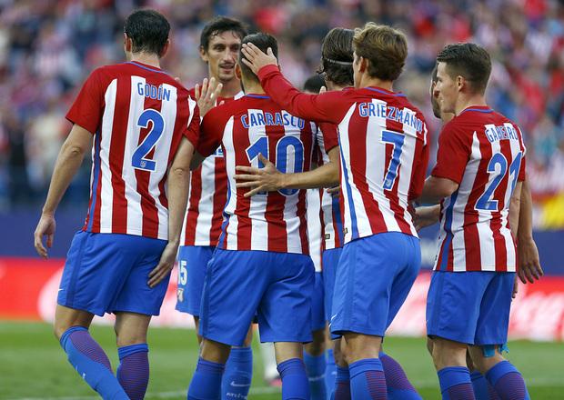 VIDEO, Atl Madrid 7-1 Granada: Carrasco rực sáng, Atletico vững ngôi đầu - Ảnh 1.