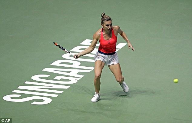Bảng đỏ WTA Finals: Madison Keys có chiến thắng đầu tiên - Ảnh 2.