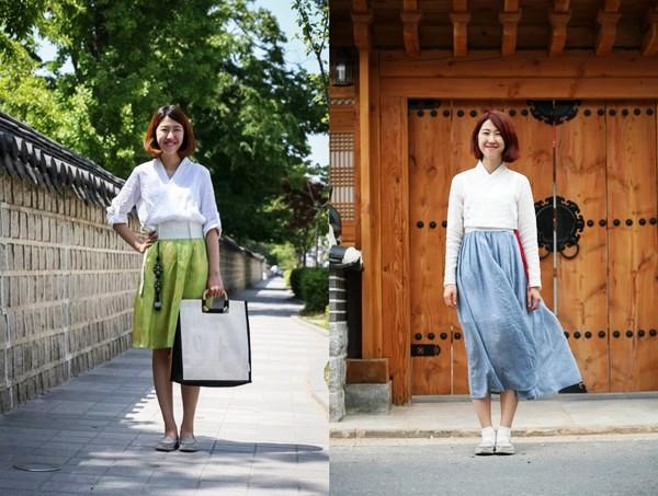 Khúc biến tấu của trang phục Hanbok truyền thống - Ảnh 1.