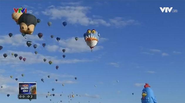Những hình ảnh đẹp trong lễ hội khinh khí cầu tại New Mexico - Ảnh 2.