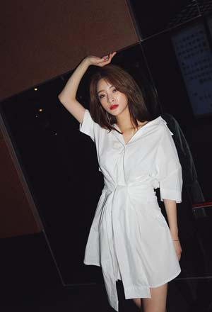 Nhấn nhá phong cách cùng váy buộc nơ - Ảnh 1.