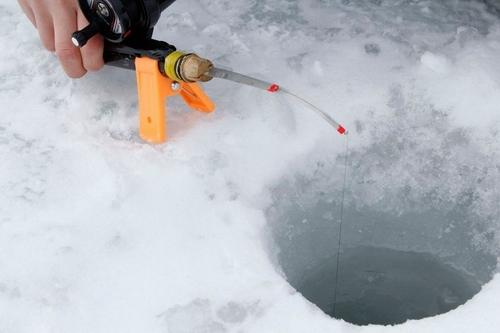 Câu cá trên băng hồ Haibara ở Nhật Bản - Ảnh 3.