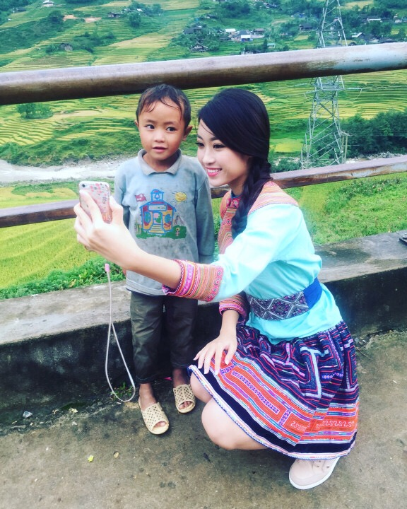 Hoa hậu Việt Nam 2016 Đỗ Mỹ Linh choáng ngợp trước vẻ đẹp của Sapa - Ảnh 5.