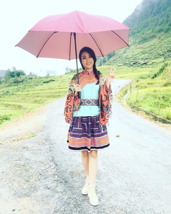 Hoa hậu Việt Nam 2016 Đỗ Mỹ Linh choáng ngợp trước vẻ đẹp của Sapa - Ảnh 6.