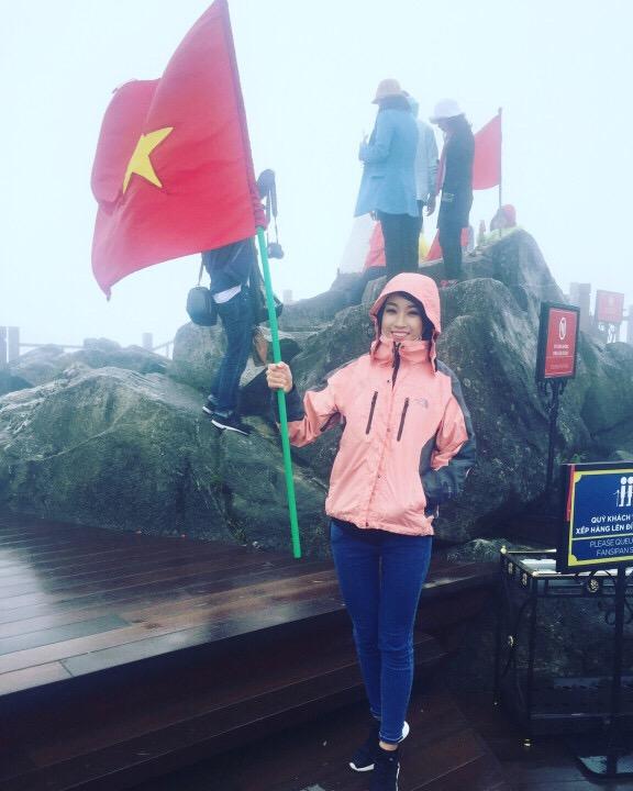 Hoa hậu Việt Nam 2016 Đỗ Mỹ Linh choáng ngợp trước vẻ đẹp của Sapa - Ảnh 7.
