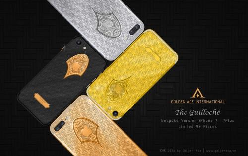 Ngắm nhìn bộ đôi iPhone 7 gây sốt qua họa tiết Guilloché - Ảnh 1.