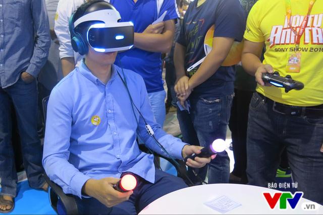 Trải nghiệm kính thực tế ảo PlayStation VR tại Sony Show 2016 - Ảnh 4.