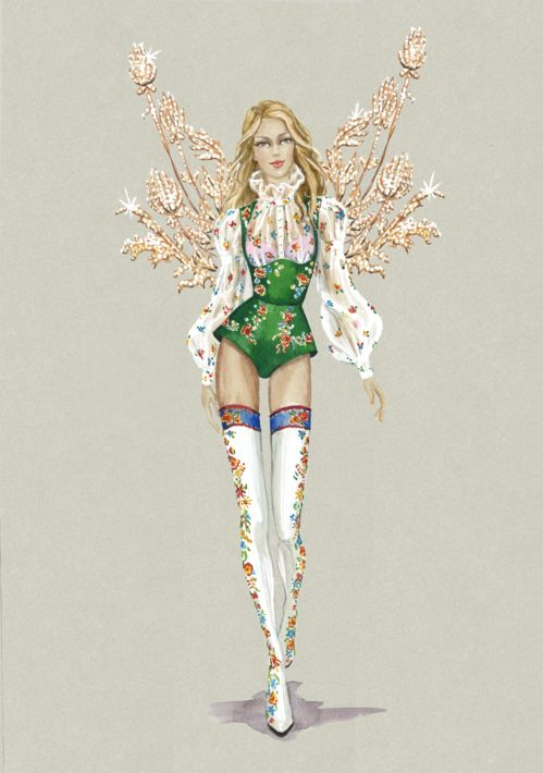 Victoria's Secret hé lộ thiết kế mới toanh cho show diễn 2016 tại Paris - Ảnh 2.