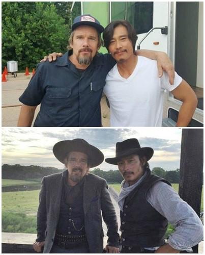 Lee Byung Hun và tình bạn thân thiết với Ethan Hawke - Ảnh 1.