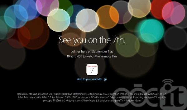 Cách xem trực tuyến sự kiện ra mắt iPhone 7 của Apple đêm nay (00h00, 8/9) - Ảnh 1.