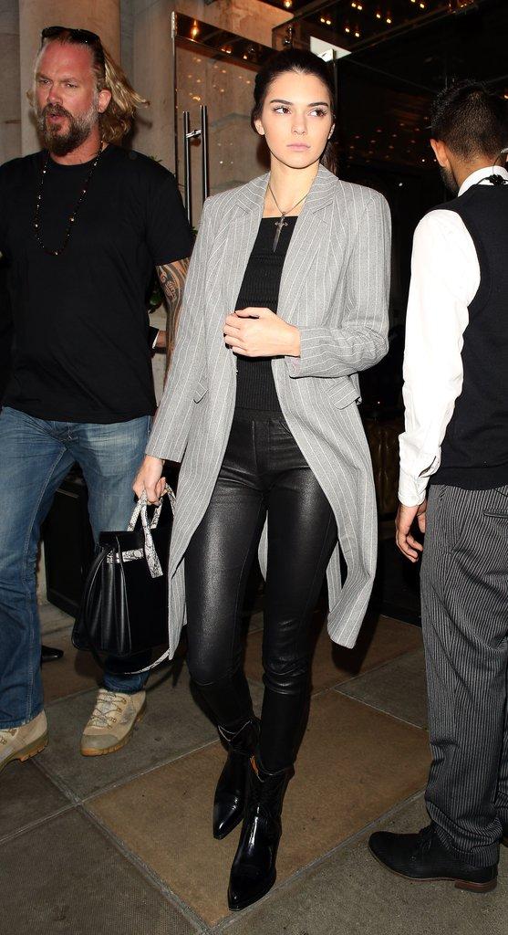 Săm soi phong cách thời trang Thu - Đông của Kendall Jenner - Ảnh 10.