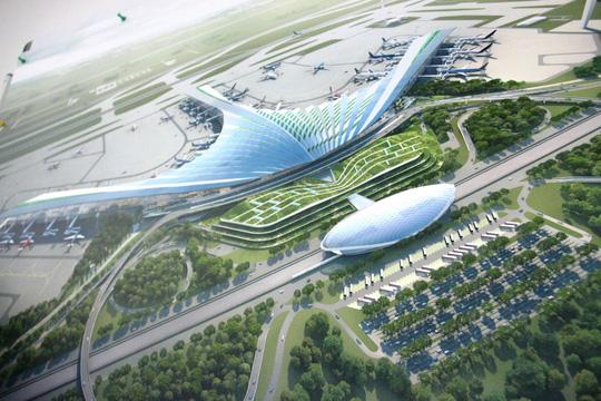 Sẽ lấy ý kiến công chúng về 3 phương án kiến trúc sân bay Long Thành - Ảnh 1.