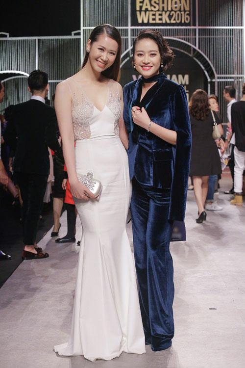 MC Phí Linh cá tính, đầy biến hóa tại Vietnam International Fashion Week - Ảnh 9.