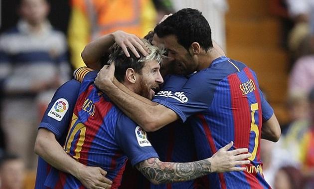 Vòng 9 La Liga: Valencia 2 - 3 Barcelona: Cuộc rượt đuổi nghẹt thở - Ảnh 5.