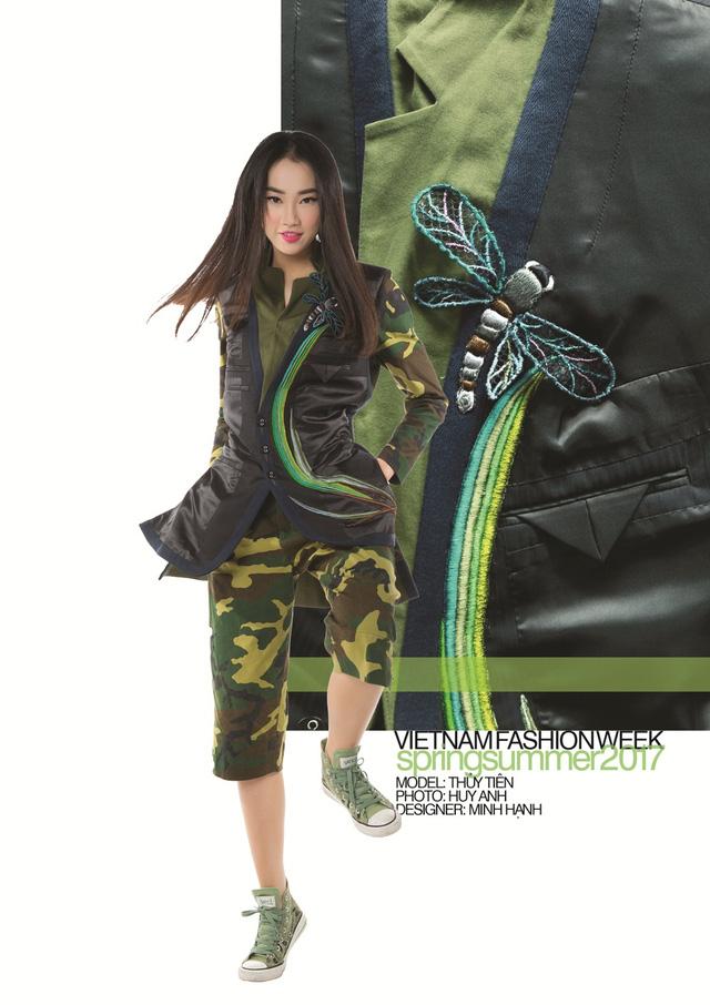 24 nhà thiết kế tham gia Tuần lễ thời trang Việt Nam Xuân Hè 2017 - Ảnh 12.