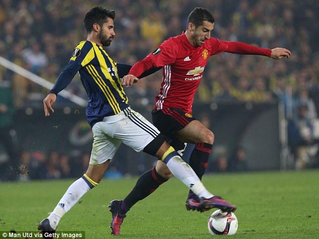 Mourinho vẫn kì thị Mkhitaryan - Ảnh 1.