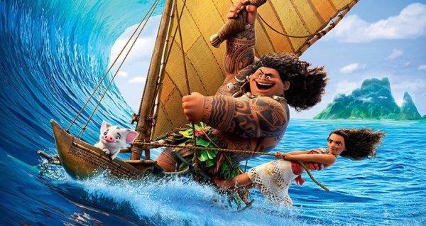 Phim hoạt hình Disney Moana tấn công phòng vé cuối năm - Ảnh 1.