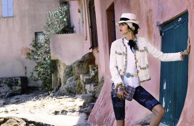 Dấu ấn Cuba trong chiến dịch thời trang mới của Chanel - Ảnh 1.