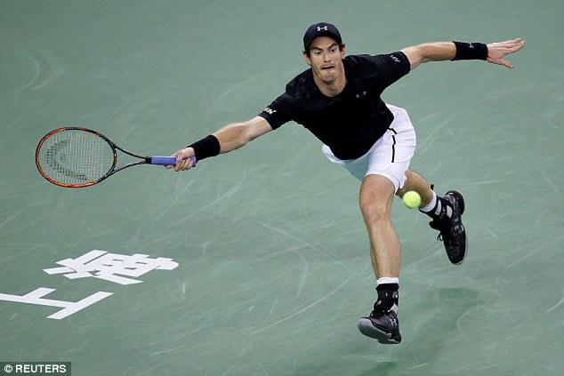 Dễ dàng vượt qua Goffin, Murray thẳng tiến vào bán kết Thượng Hải Masters - Ảnh 3.