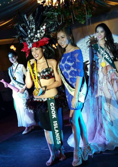 Nam Em giành Huy chương Bạc phần thi tài năng Miss Earth 2016 - Ảnh 2.