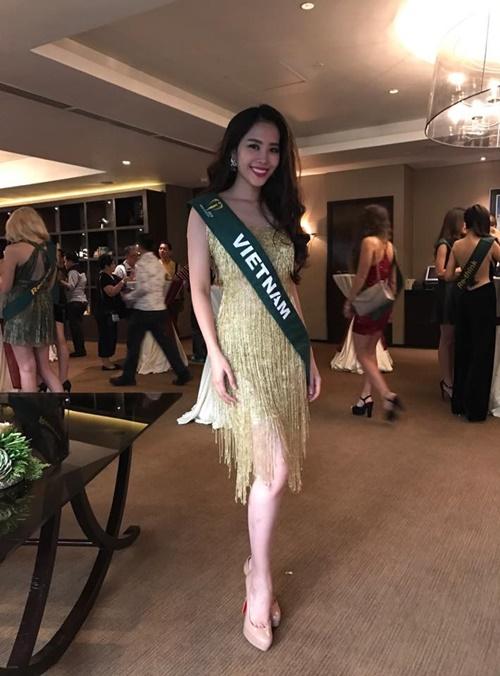 """Những hình ảnh cực """"nóng"""" của Nguyễn Thị Lệ Nam Em tại Hoa hậu Trái đất 2016 - Ảnh 4."""
