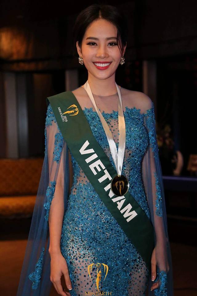 Nam Em tiếp tục rinh giải tại Hoa hậu Trái đất 2016 - Ảnh 1.