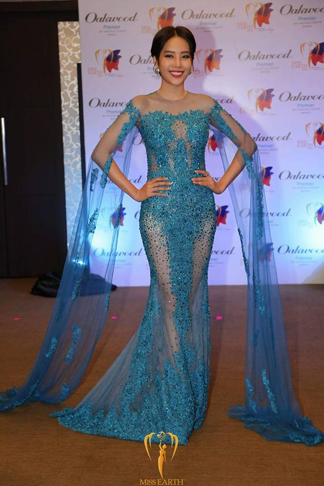 Nam Em tiếp tục rinh giải tại Hoa hậu Trái đất 2016 - Ảnh 5.
