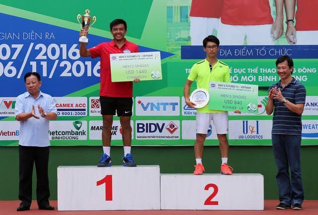 Lý Hoàng Nam vô địch nội dung đơn nam giải Vietnam F5 Futures - Ảnh 1.