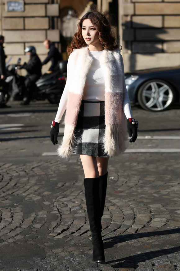Ngọc Duyên khoe bộ ảnh thời trang cực chất tại Paris - Ảnh 6.