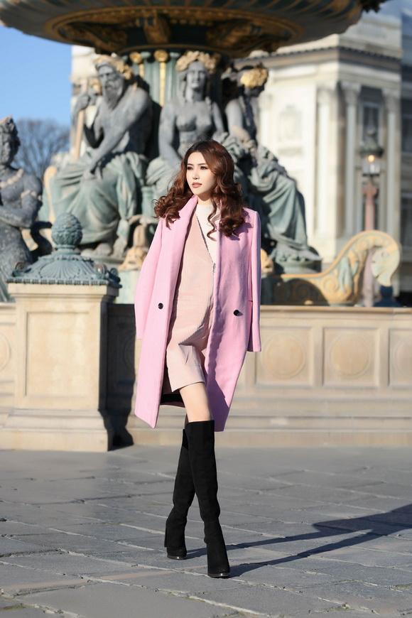 Ngọc Duyên khoe bộ ảnh thời trang cực chất tại Paris - Ảnh 8.