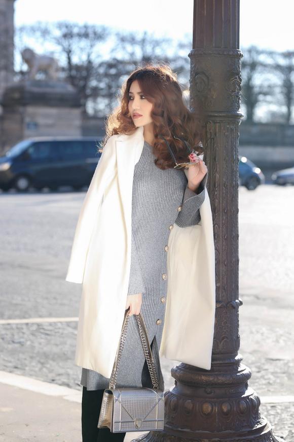 Ngọc Duyên khoe bộ ảnh thời trang cực chất tại Paris - Ảnh 10.