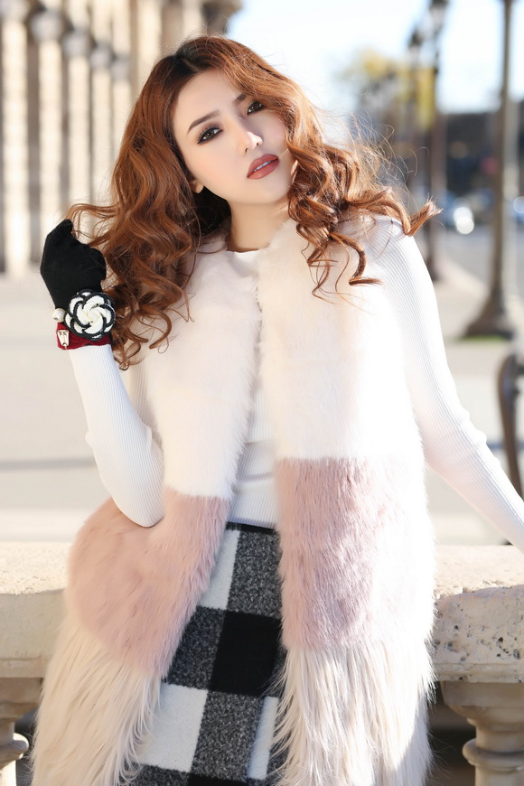 Ngọc Duyên khoe bộ ảnh thời trang cực chất tại Paris - Ảnh 7.